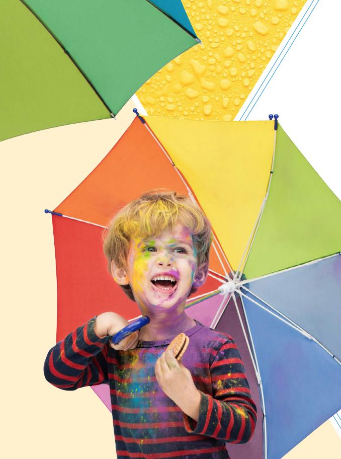 image parapluie Fare couleurs