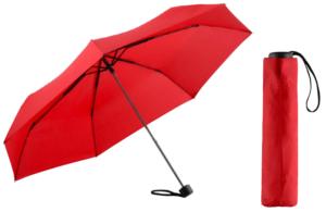 Parapluies de poche rouge
