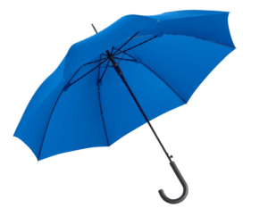 parapluie bleu type standard