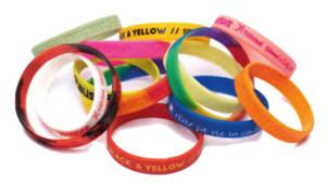 Bracelets personnalisés catégorie textiles et accessoires