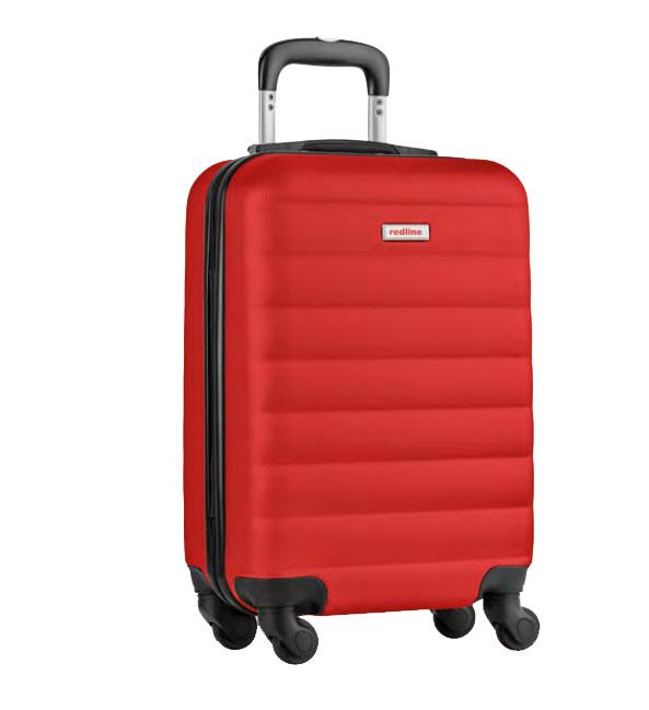 Valise de voyage rouge Luxgoodies